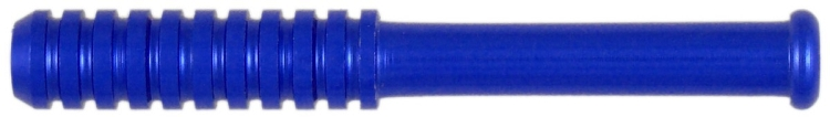 BAT07 - Compact Blue Anodized Tobacco Bat
