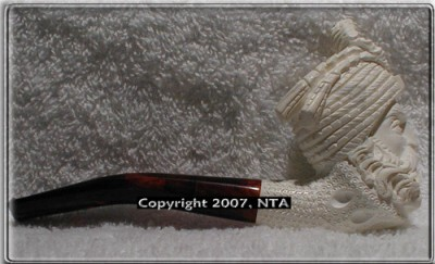 MPS038 - Mini Sultan Meerschaum Tobacco Pipe