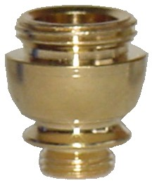 PBB03 - Brass Threaded Tobacco Pipe Bowl