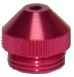 PLA02 - Anodized Cone Tobacco Pipe Bowl Lid