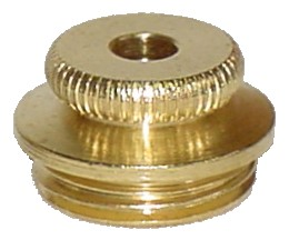 PLB01 - Brass Flat Tobacco Pipe Bowl Lid