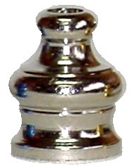 PMN02 - Nickel Pyramid Tobacco Pipe Mouthpiece