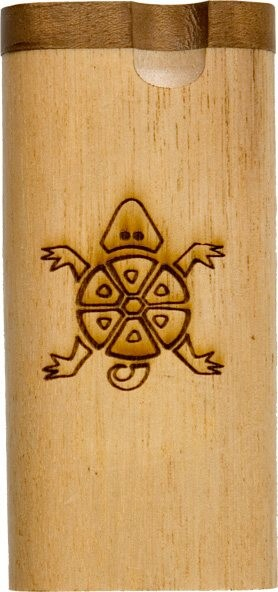 PTB80BL - Standard Twist Laser Etched Tobacco Box