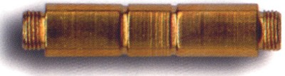 PCB07 - Brass Tobacco Pipe Stem Connector