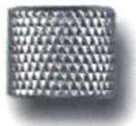 PCN02 - Nickel Tobacco Pipe Knurled Coupling
