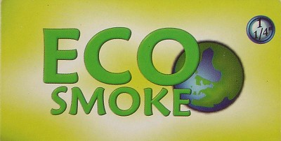 "RP003A - 1 1/4"" EcoSmoke Transparent Cigarette Tobacco Papers"
